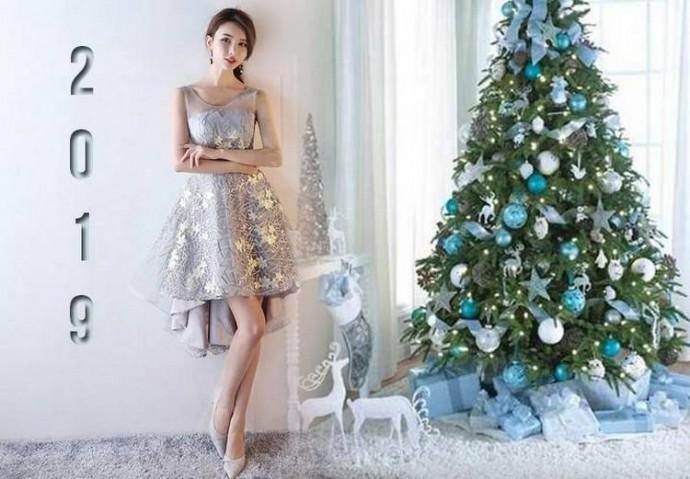 Какое платье одеть на Новий год 2019?