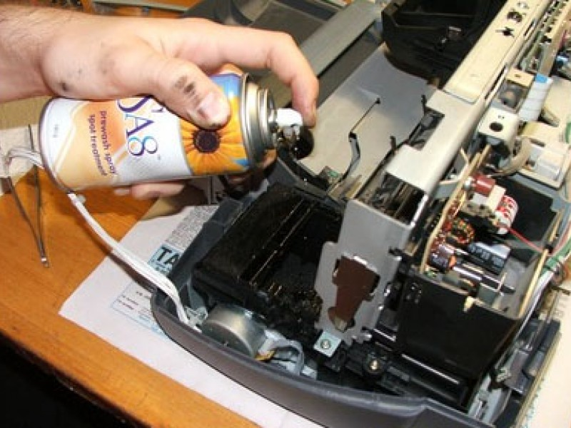 Чистка принтера