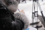 У Вінниці вусатий листоноша закликав дякувати рідним (Фото)