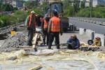 Другий місяць триває ремонт Київського мосту. Що зробили за цей час (Фото+Відео)