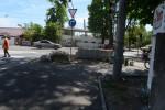 На виїзді з Вінниці облаштовують острівець безпеки (Фото)