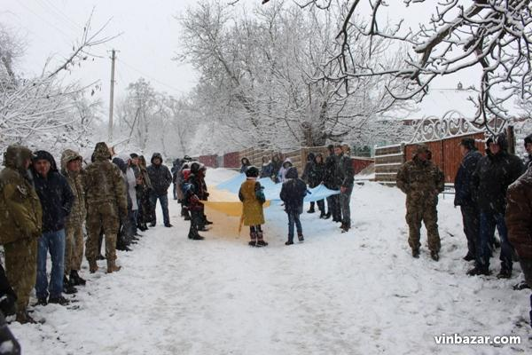 На Вінниччині попрощалися з бійцем АТО, який загинув під час обстрілу позицій (Фото)