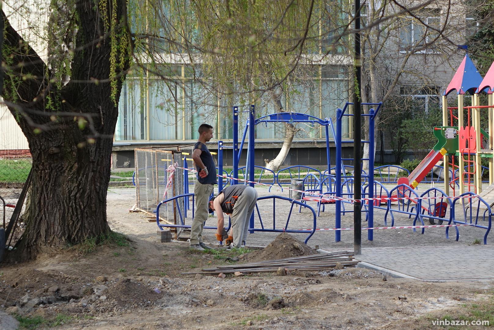 У Вінниці розпочали будівництво футбольного стадіону за 19 мільйонів гривень (Фото)