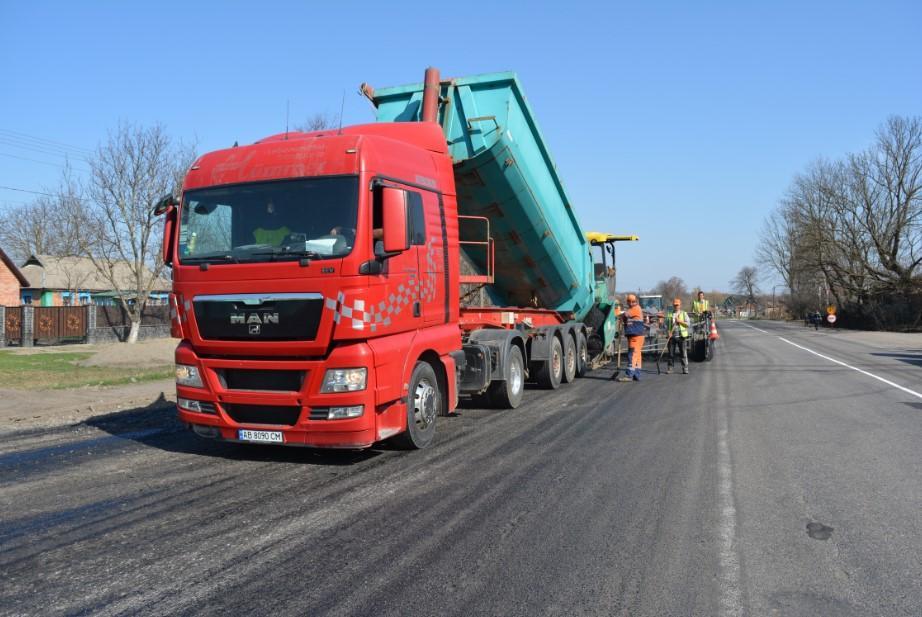 Будівництво транснаціонального коридору GO Highway на Вінниччині: де чекати на новий асфальт у 2018? (Фото)