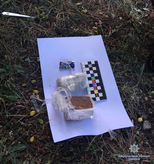 До колонії у Вінниці намагалися перекинути наркотики (Фото)