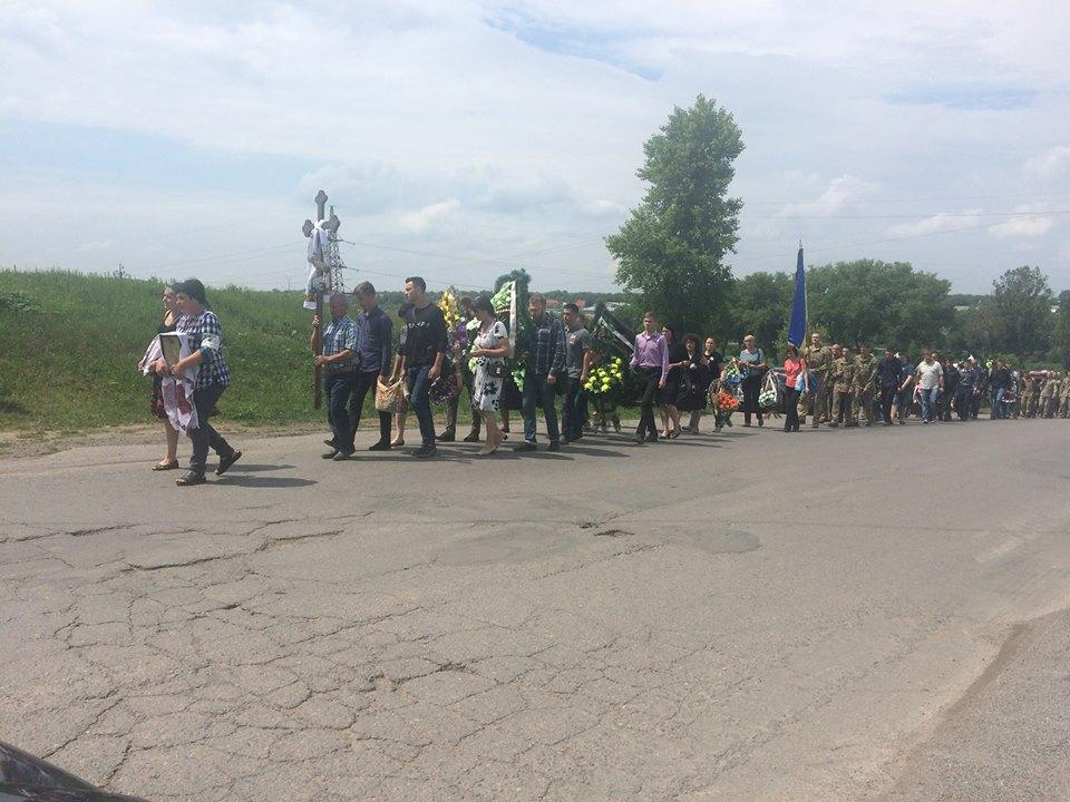 На Вінниччині попрощалися з 23-річним бійцем, який загинув на Донбасі (Фото)
