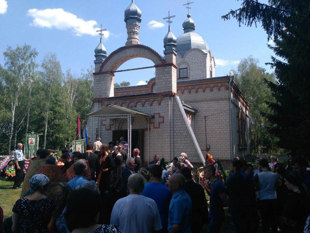 На Вінниччині поховали 19-річного бійця, який загинув на Донбасі (Фото)
