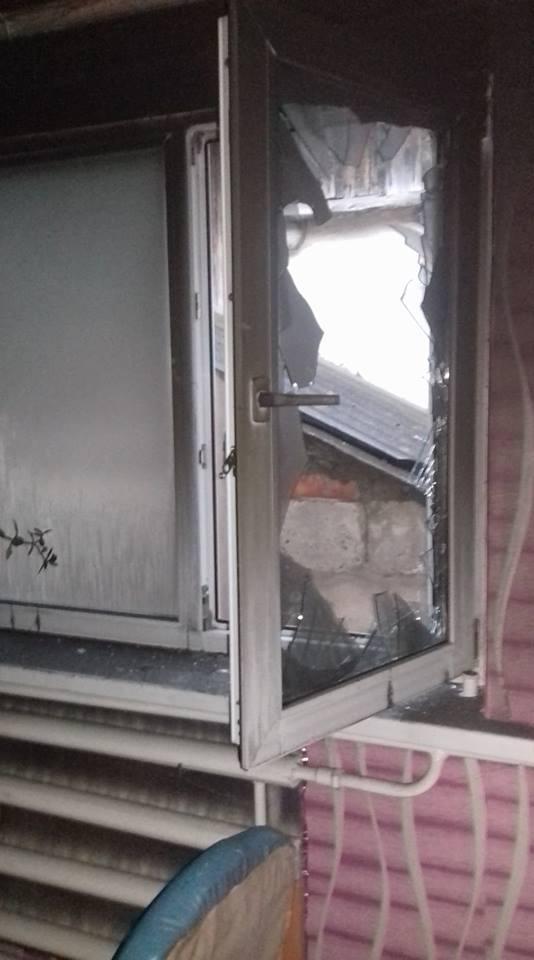 На Вінниччині ледь не згорів будинок (Фото)
