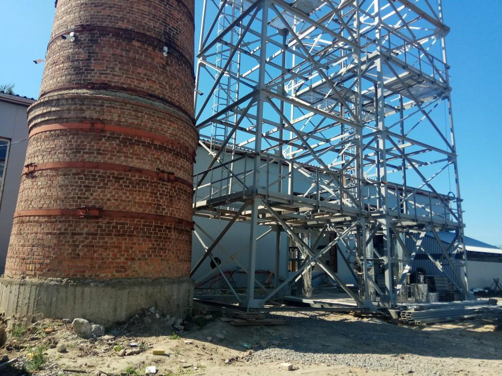 У Вінниці триває будівництво твердопаливної котельні (Фото)