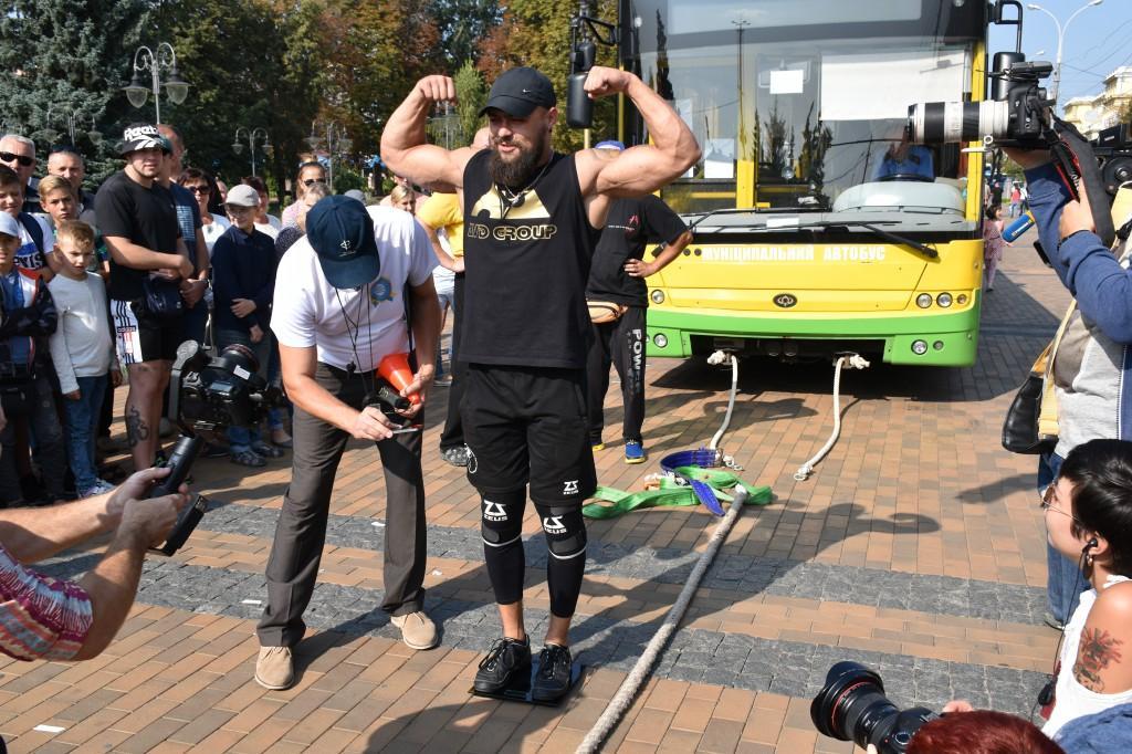 До Дня міста у Вінниці встановили рекорд України з трак-пулу (Фото)