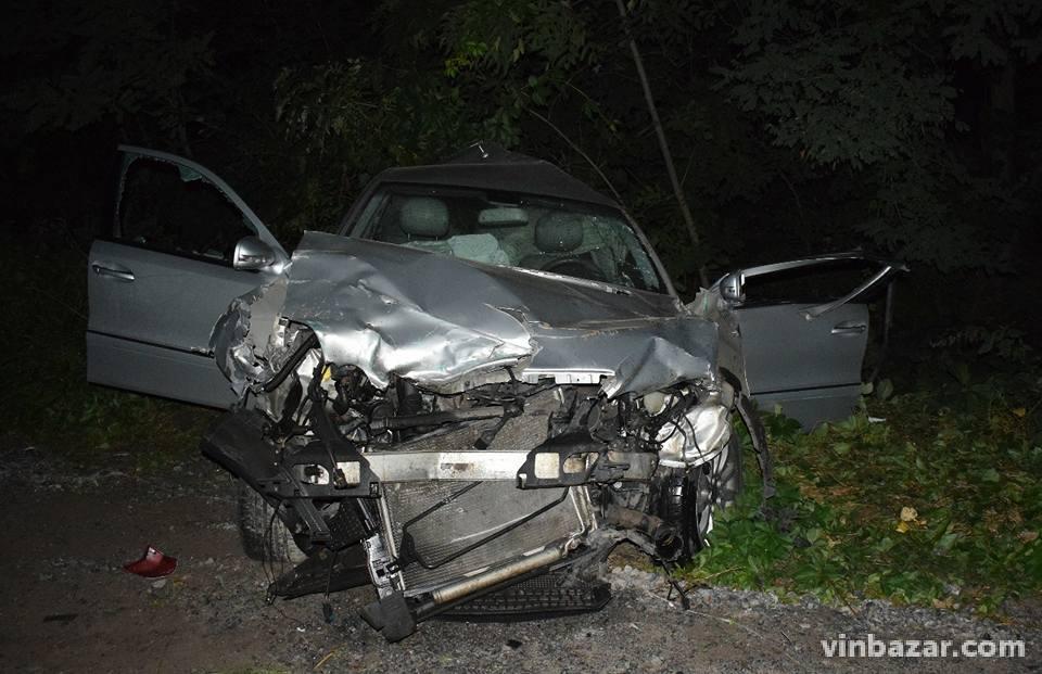 Смертельна ДТП: на Вінниччині зіткнулися Mersedes, гужова повозка та вантажівка (Фото)