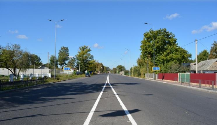 На Вінниччині триває ремонт на дорозі М-12 «Стрий – Тернопіль – Кіровоград – Знам'янка»