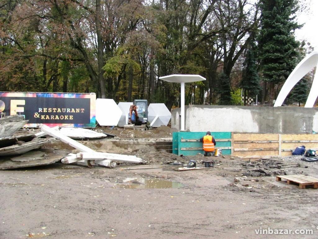 Біля входу в Центральний парк встановлюють нові