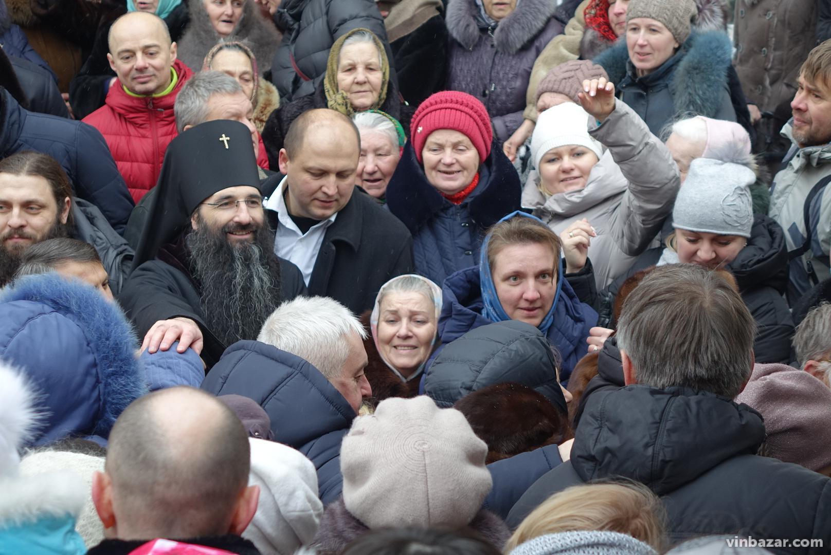 До Вінниці прибув новопризначений очільник Вінницької єпархії УПЦ МП (Фото)