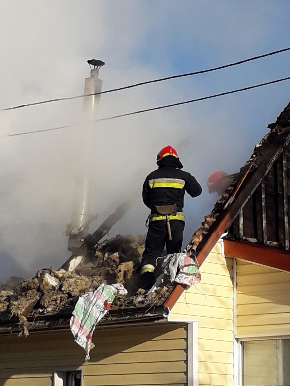 На Вінниччині вщент вигорів будинок (Фото)