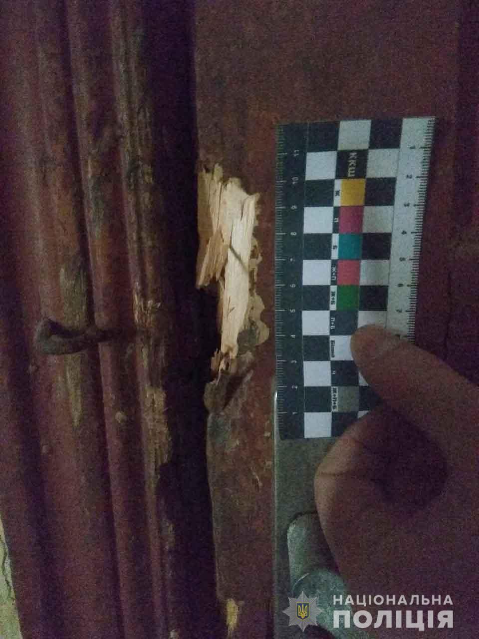 На Вінниччині молодик зірвав замки з дверей та пограбував магазин (Фото)