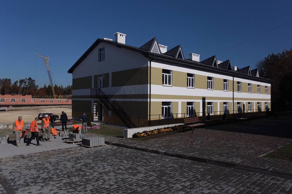 На Вінниччині зводять нові гуртожитки для 59 бригади ЗСУ (Фото)