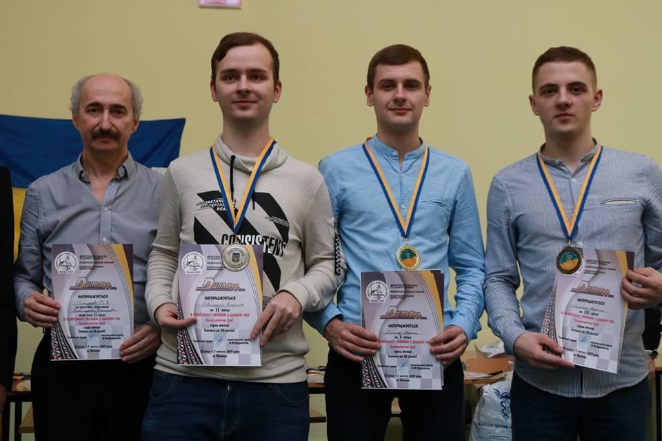 Вінничани здобули шість медалей в чемпіонаті України з шашок (Фото)