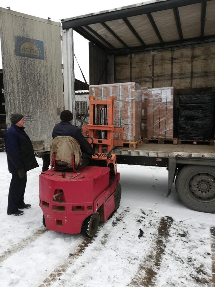 До Вінниці прибула перша партія обладнання для Е-квитка (Фото)