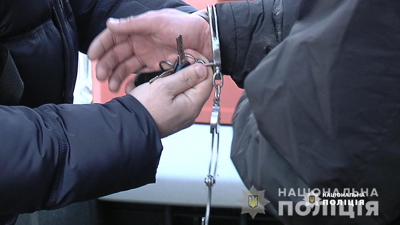 У Вінниці затримали групу квартирних злодіїв (Фото+Відео)