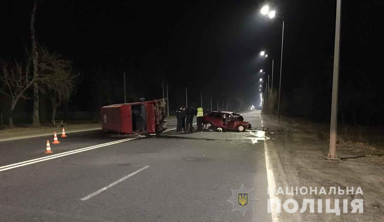На Вінниччині в аварії загинув киянин. Ще один потерпілий перебуває у лікарні
