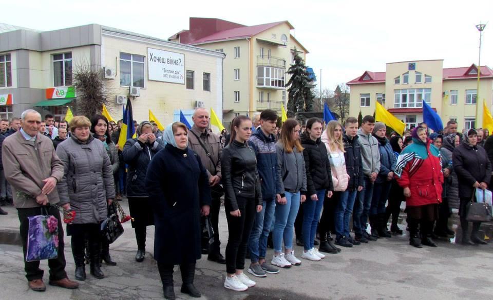 На Винниччине простились с погибшим в зоне боевых действий бойцом (Фото), фото-3