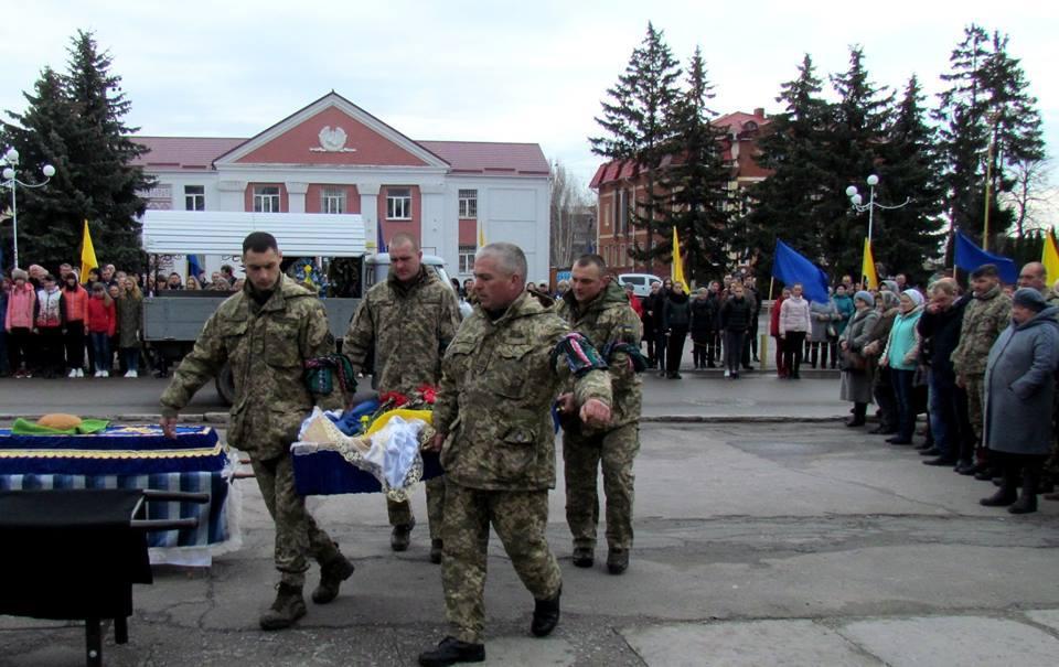 На Винниччине простились с погибшим в зоне боевых действий бойцом (Фото), фото-4