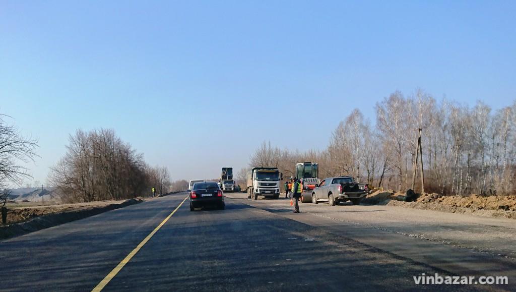 На Вінниччині відновили ремонт траси, яка стане частиною GO Highway (Фото+Відео)