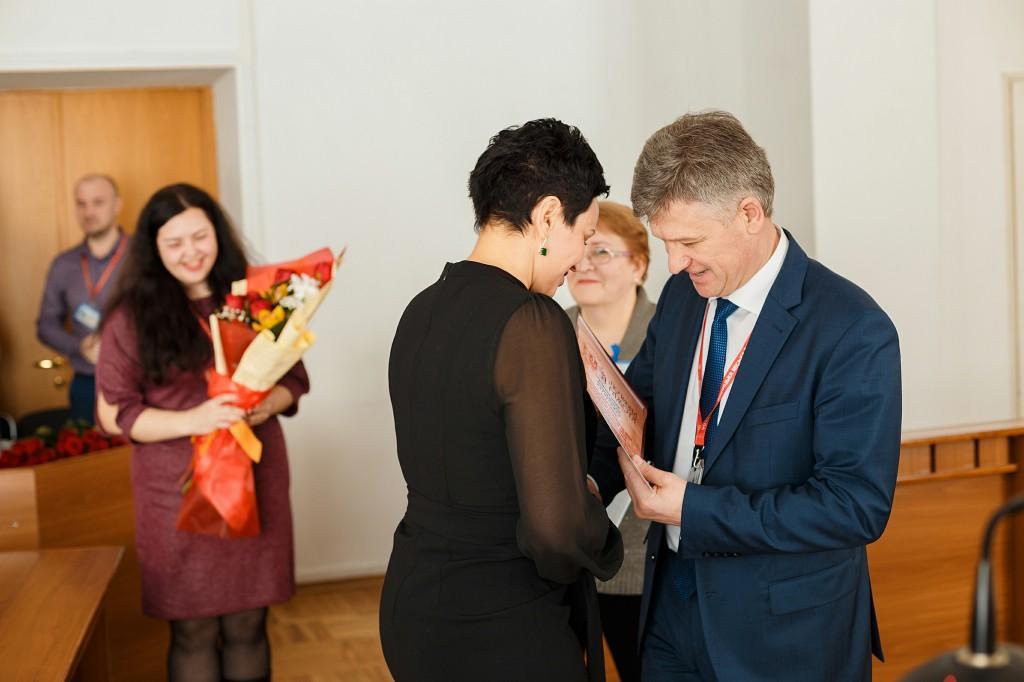 У Вінниці відзначили працівників житлово-комунальної сфери з нагоди професійного свята (Фото)
