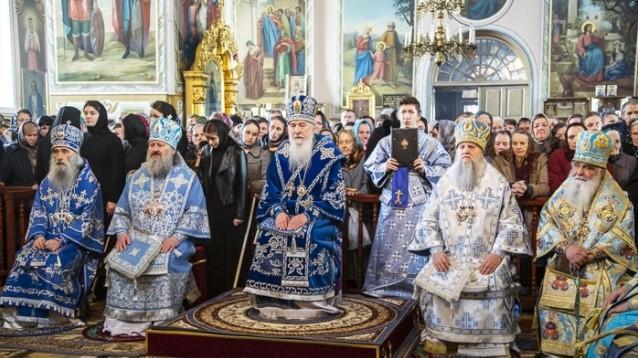 На Вінниччині митрополит отримав з Москви орден РПЦ (Фото)