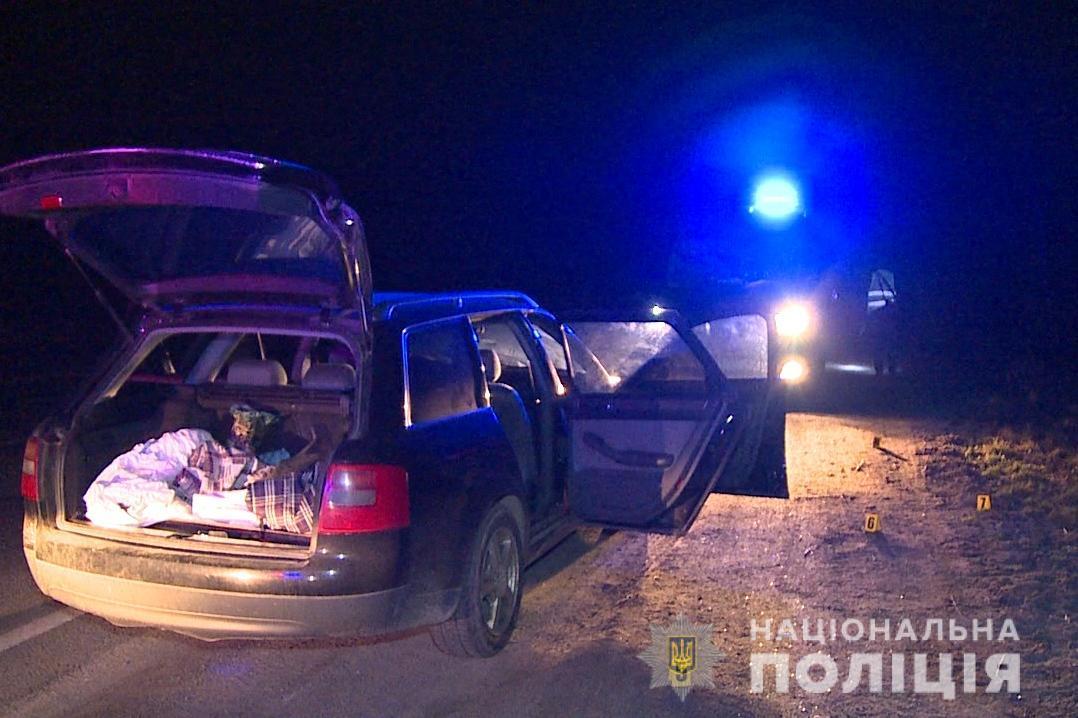 Затримали чоловіків, які вчинили перестрілку з поліцією на Вінниччині (Фото)