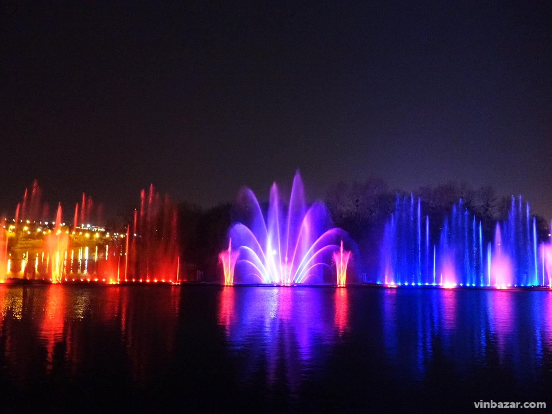Відкриття нового сезону роботи фонтану