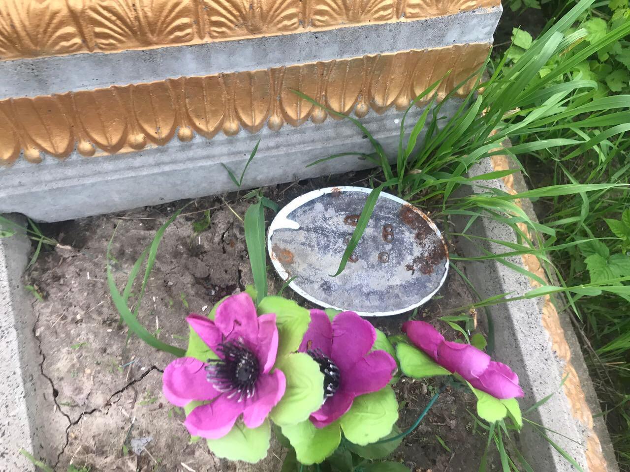 На Вінниччині 14-річний підліток пошкодив 60 могил (Фото)