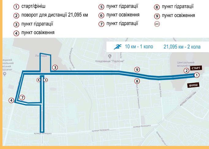"""Через напівмарафон """"Вінниця біжить"""" у місті перекриють рух транспорту"""