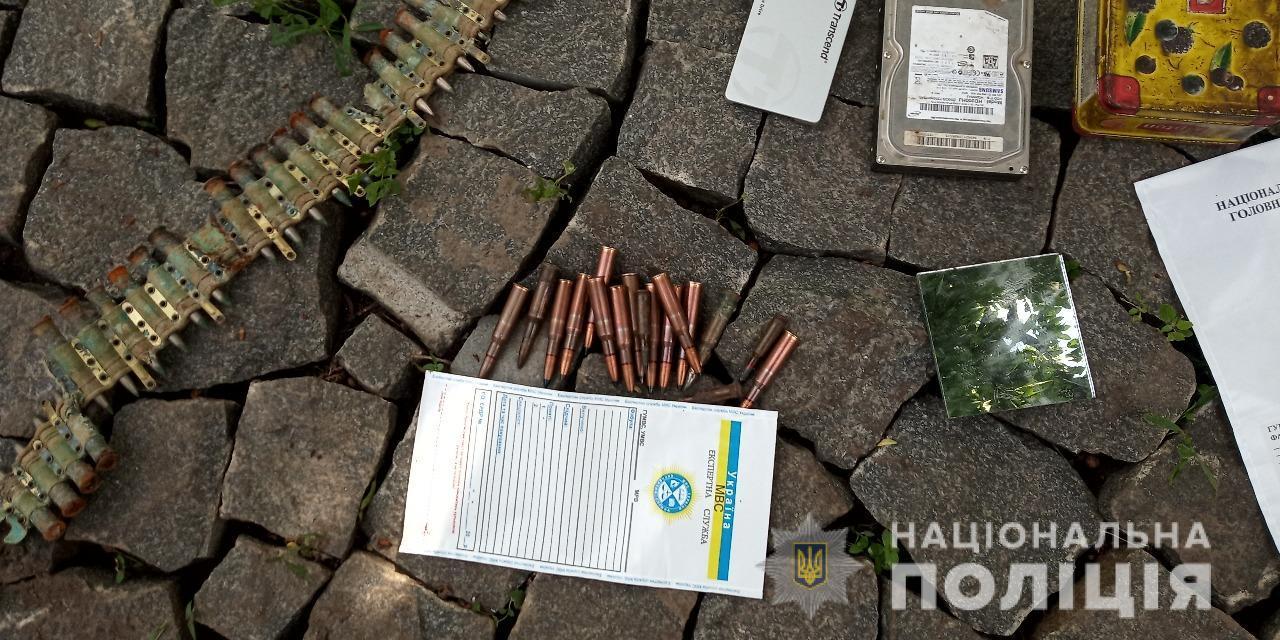 На Вінниччині у дебошира вилучили 2 гвинтівки та майже 300 набоїв (Фото)