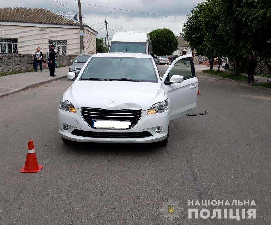 4 дитини травмувались внаслідок ДТП на Вінниччині (Фото)