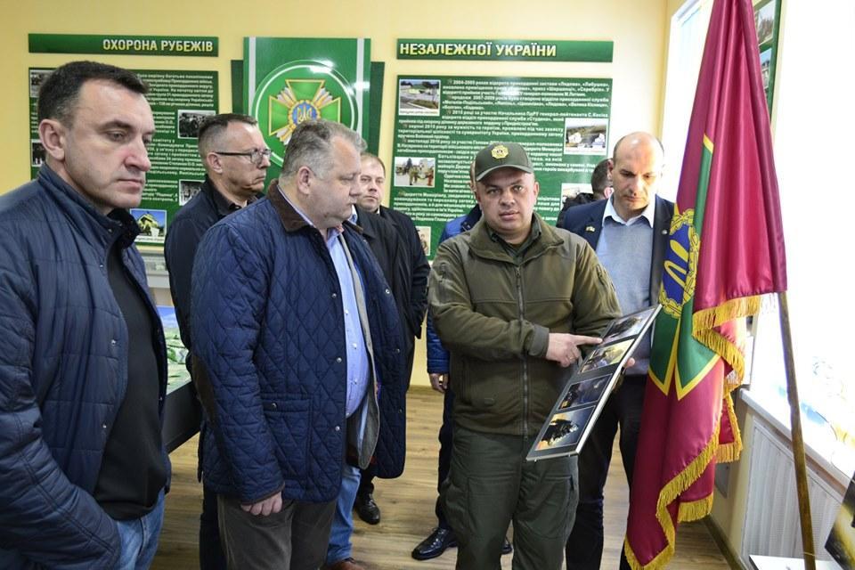 На Вінниччині українсько-молдовський кордон відвідала делегація Литви (Фото)