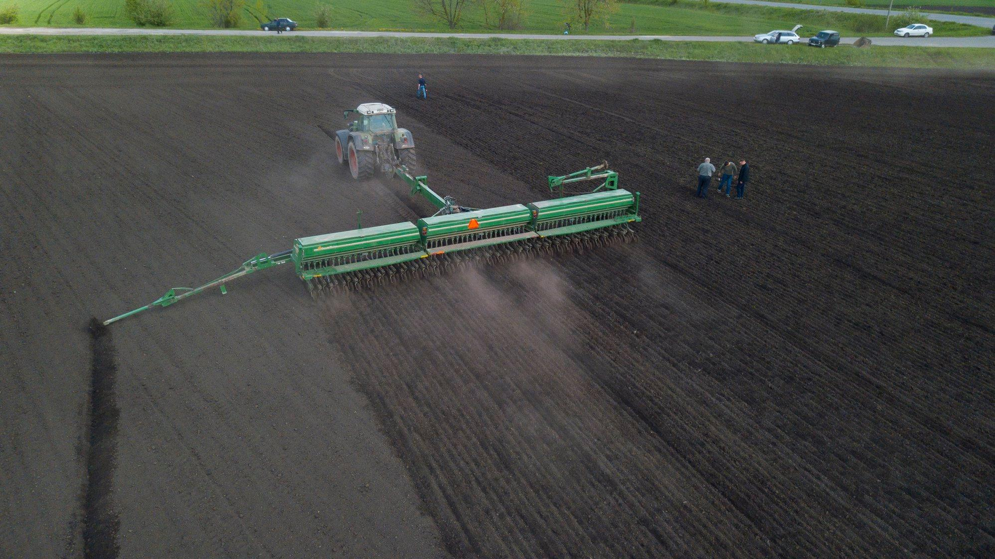 На Вінниччині аграрії вперше засіяли нут (Фото)