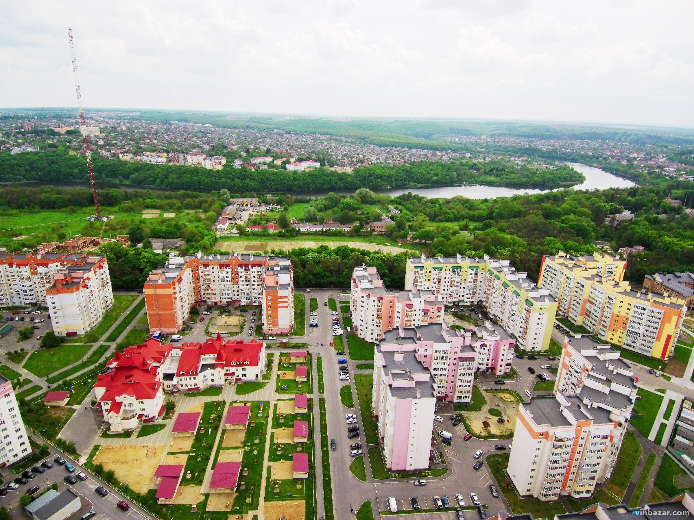 Піднебесна Вінниця: 20 знімків міста зроблені з квадрокоптера ч.2 (Фото)
