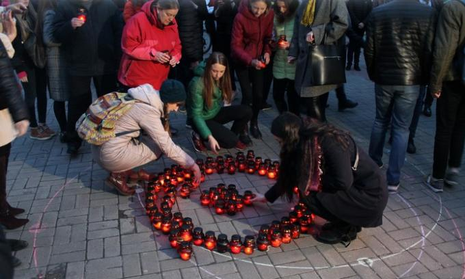 У Вінниці пройшла поминальна акція «Перша хвилина миру» (Фото)