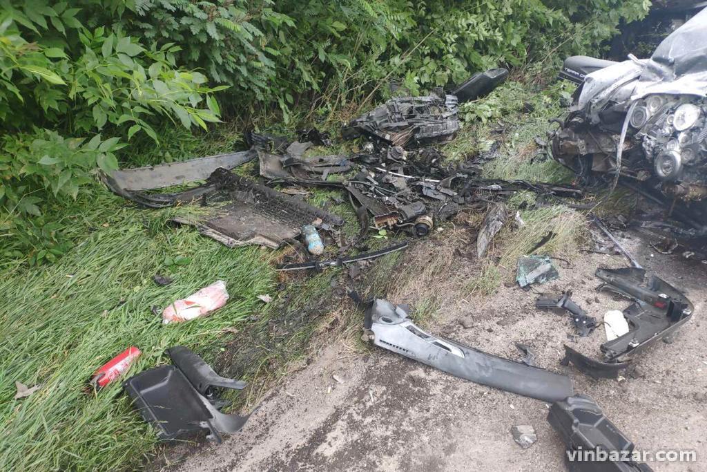 На Вінниччині в аварії травмувалися вісім осіб. Чотири людини загинули на місці (Фото)
