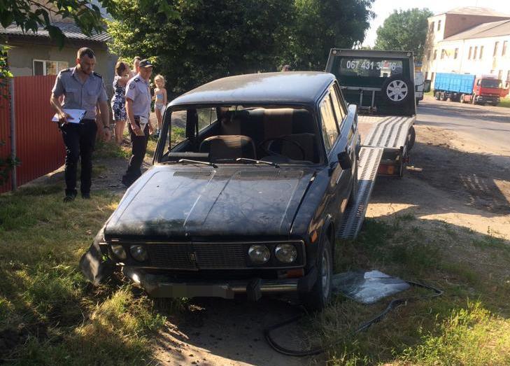 На Вінниччині чоловік викрав припарковане авто, щоб доїхати додому (Фото)