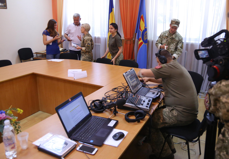 У Вінниці презентували військове радіо