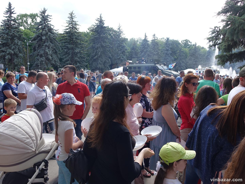 У Вінниці відбувся фестиваль польової кухні (Фото)