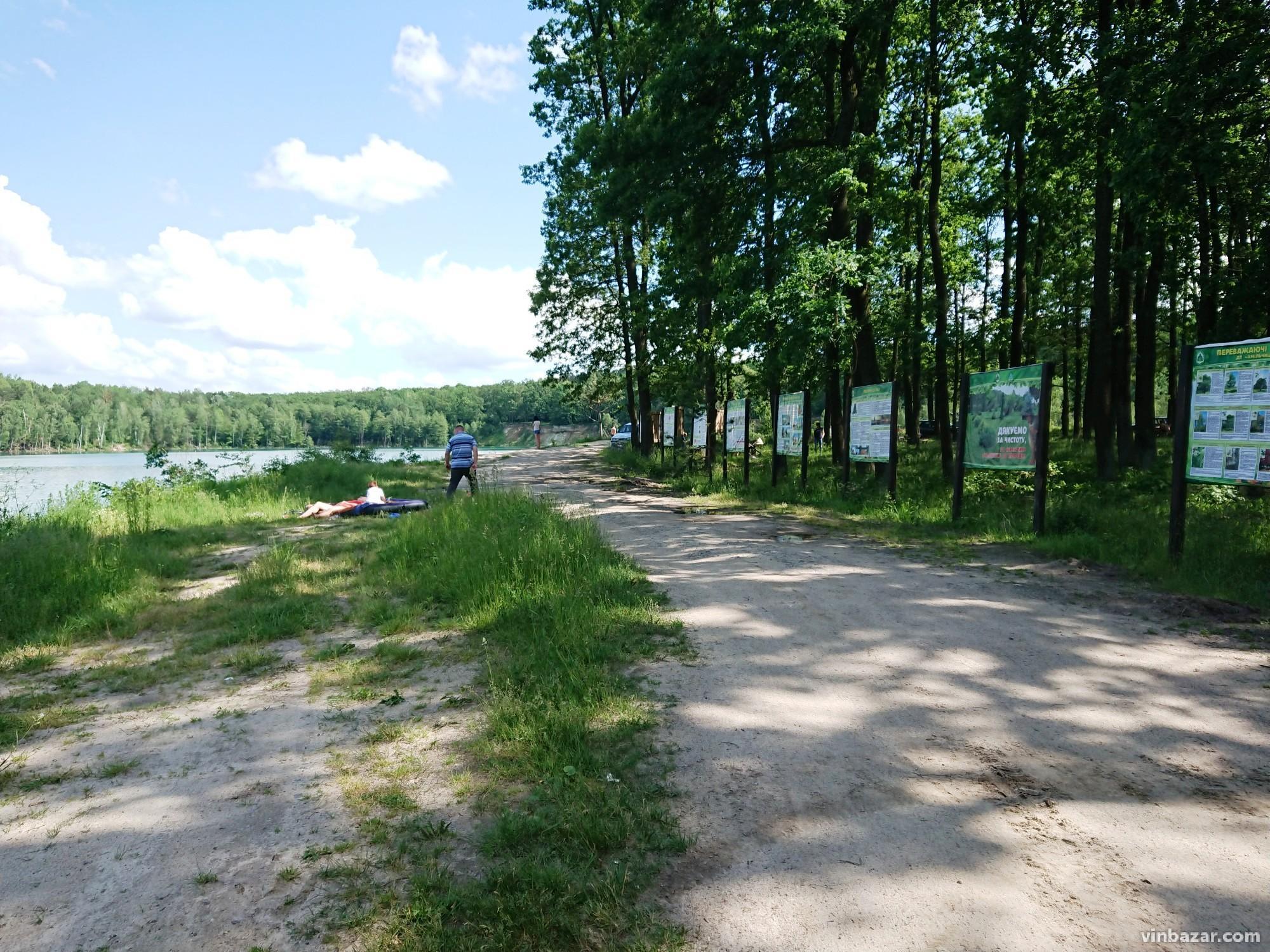 Біля Черепашинського кар'єру зводять базу відпочинку (Фото)