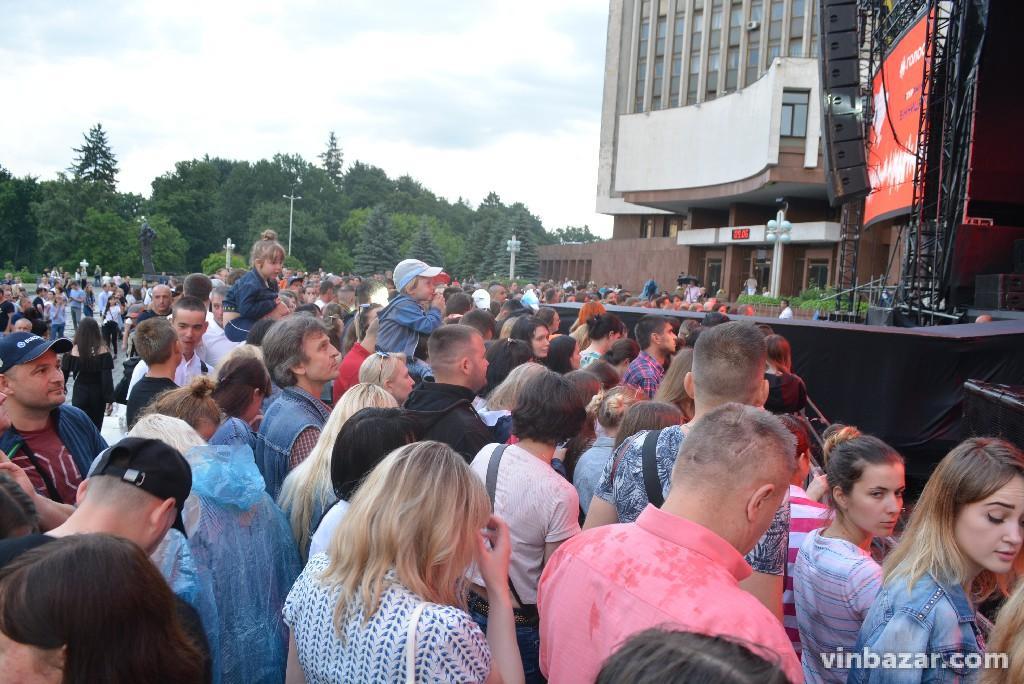 У Вінниці відбувся агітаційний концерт