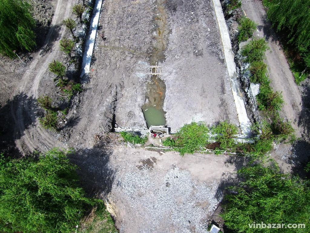 Реконструкцію озера на Максимовича зняли з дрона (Фото+Відео)