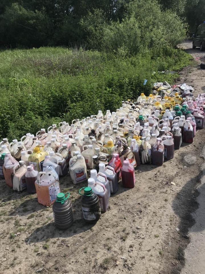 Збитки від потрапляння хімікатів у притоку річки Рось на Вінниччині склали 9 мільйонів гривень