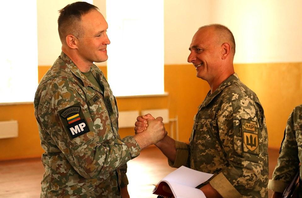 У Вінниці провели збори всіх головних сержантів Військової служби правопорядку (Фото)