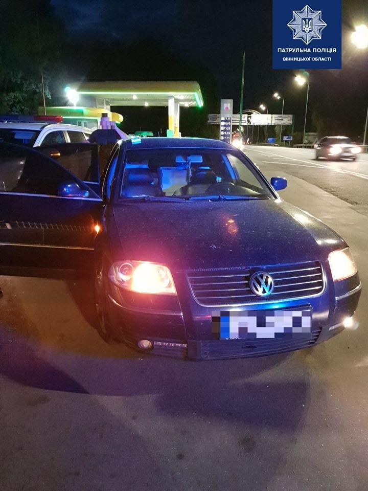 У Вінниці затримали водія, який їздив